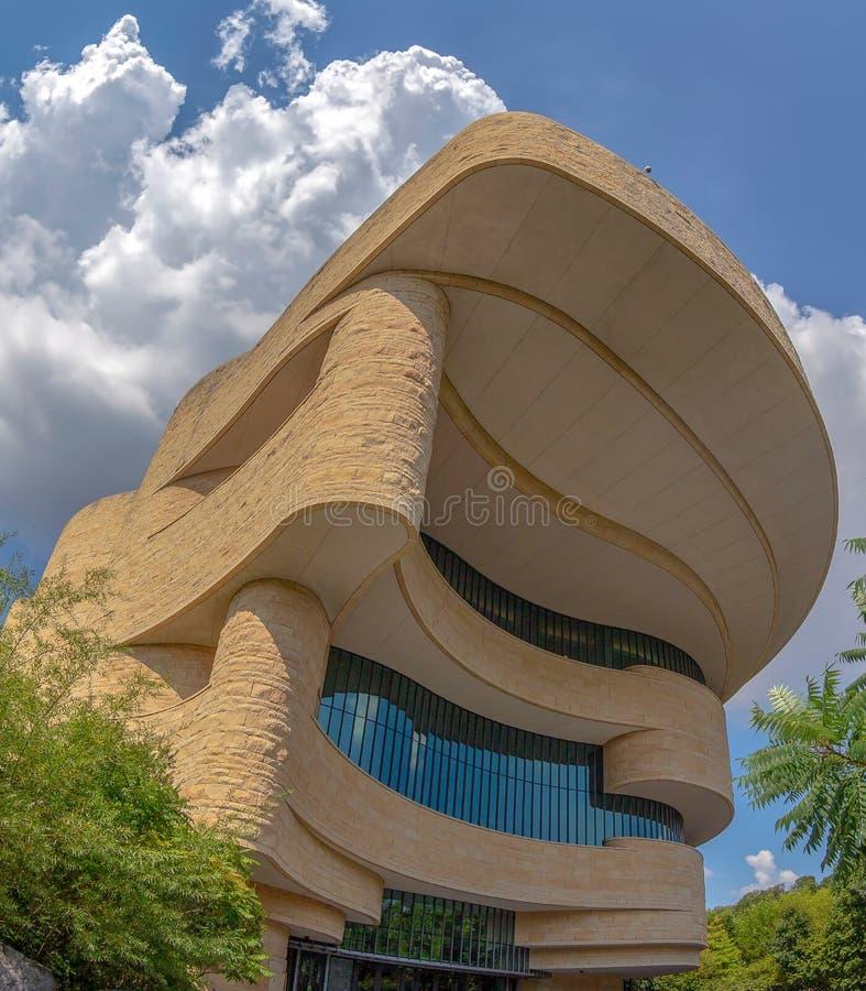 Музей американского индейца в DC Вашингтона, США стоковое изображение