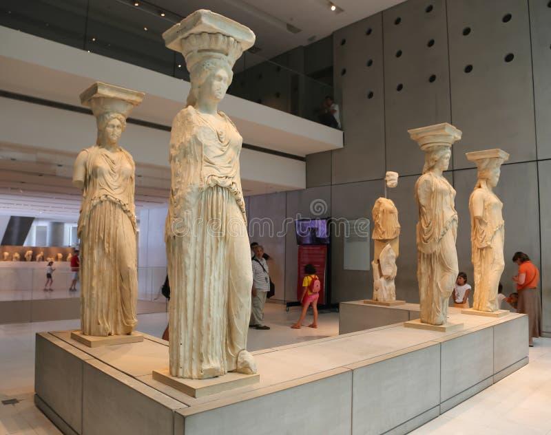 Музей Афин, Греции стоковая фотография rf