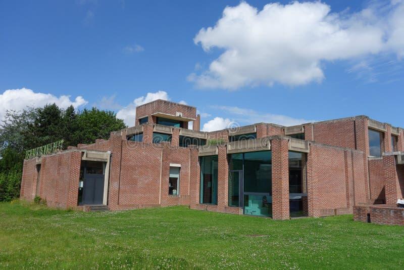 Музей бегства в Villeneuve Ascq стоковая фотография