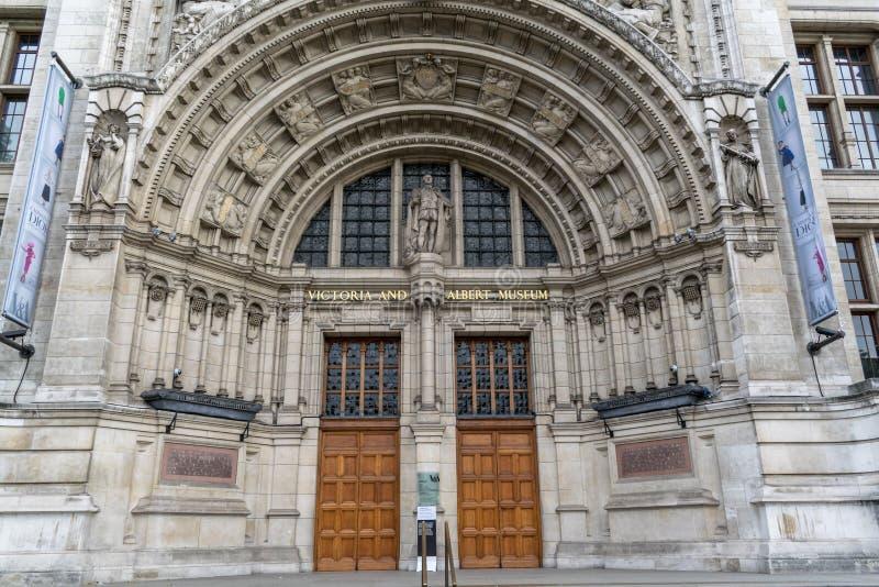 Музей Виктория и Альберта стоковые изображения