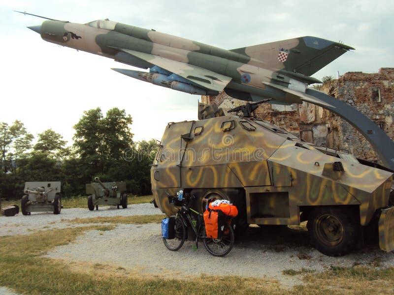 Музей войны в Хорватии стоковые изображения