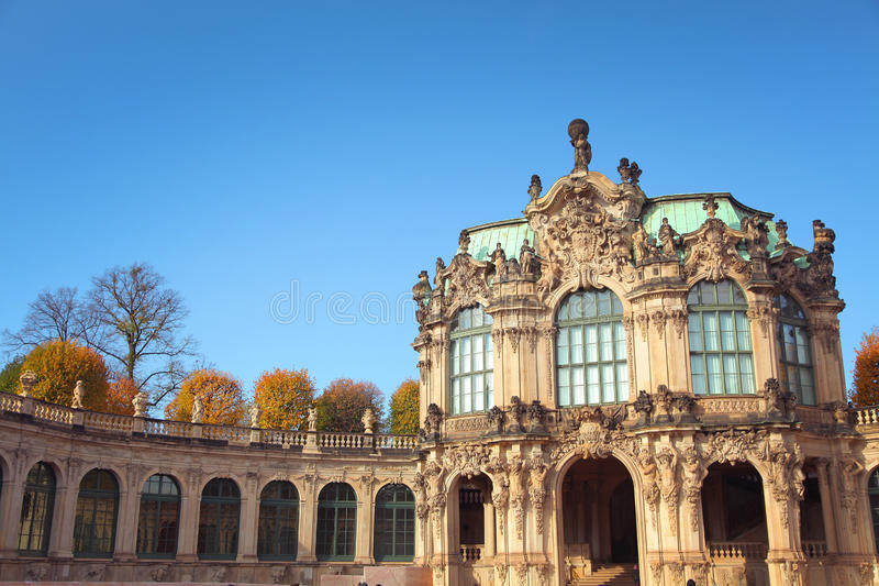 Музей в Дрездене Стоковое Изображение
