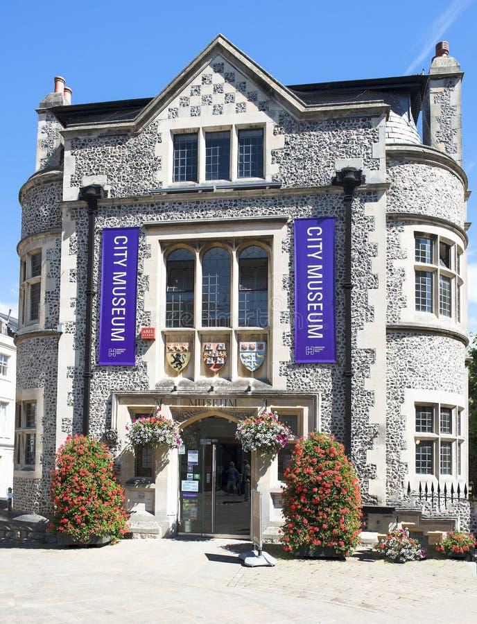 Музей города Винчестер, Англия стоковое фото rf
