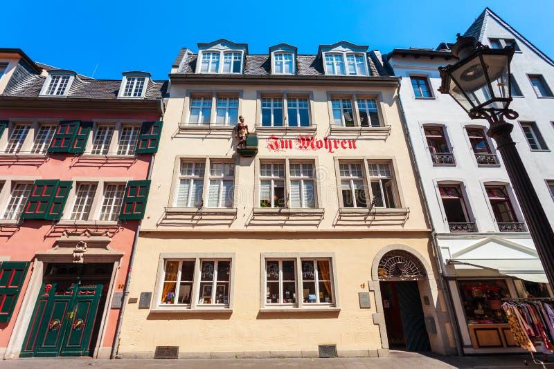 Музей дома Бетховен в Бонне стоковое изображение