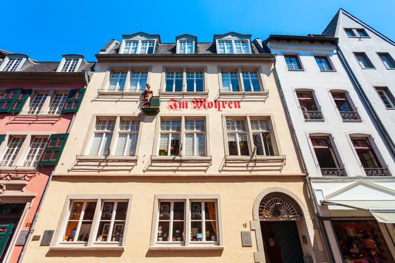 Музей дома Бетховен в Бонне стоковое изображение rf