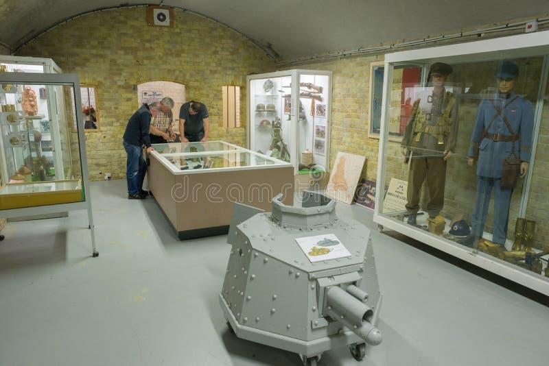 Музей 1940 Дюнкерка показывает сражение Дюнкерка стоковые фото
