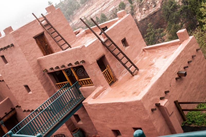 Музей жилищ скалы Manitou Колорадо стоковое фото