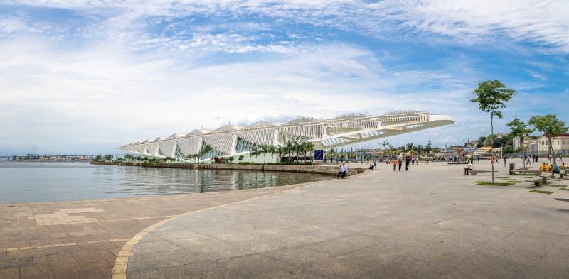 Музей завтра или Museu делают Amanha - Рио-де-Жанейро, Бразилию стоковые изображения rf