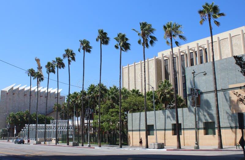 Музей изобразительных искусств Los Angeles County, LACMA стоковое фото