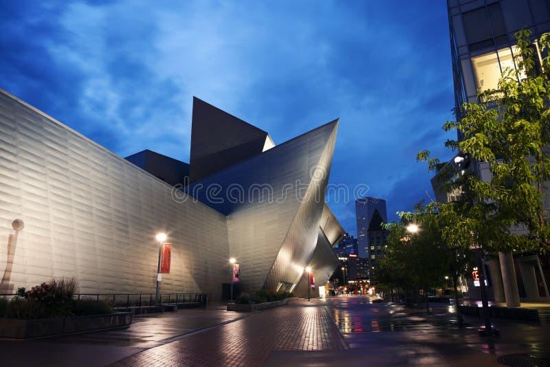 Музей изобразительных искусств, Денвер стоковая фотография