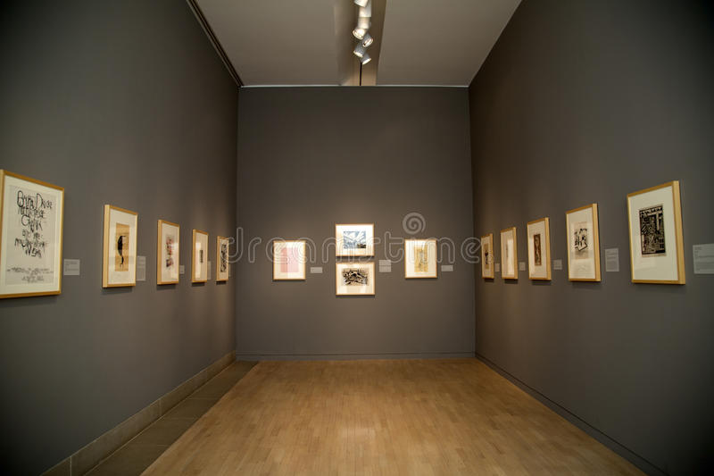 Музей изобразительных искусств стоковые фотографии rf