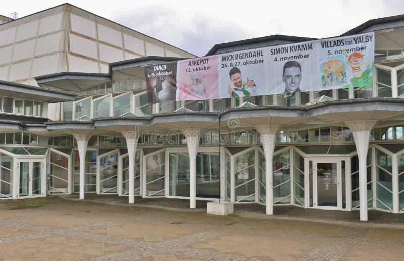 Музей изобразительных искусств Esbjerg, Дании стоковая фотография rf