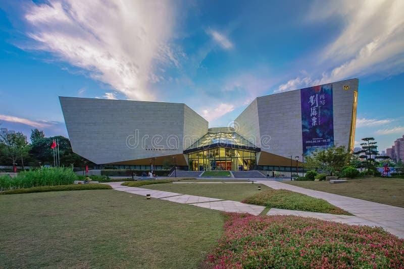 Музей изобразительных искусств Liu Haisu стоковые фотографии rf