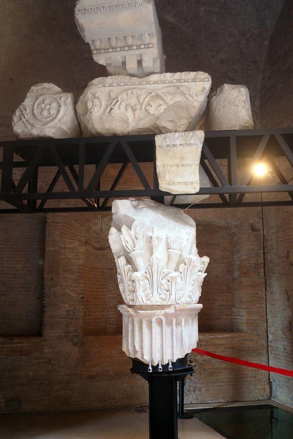 Музей имперских форумов в Риме, Италии стоковое фото