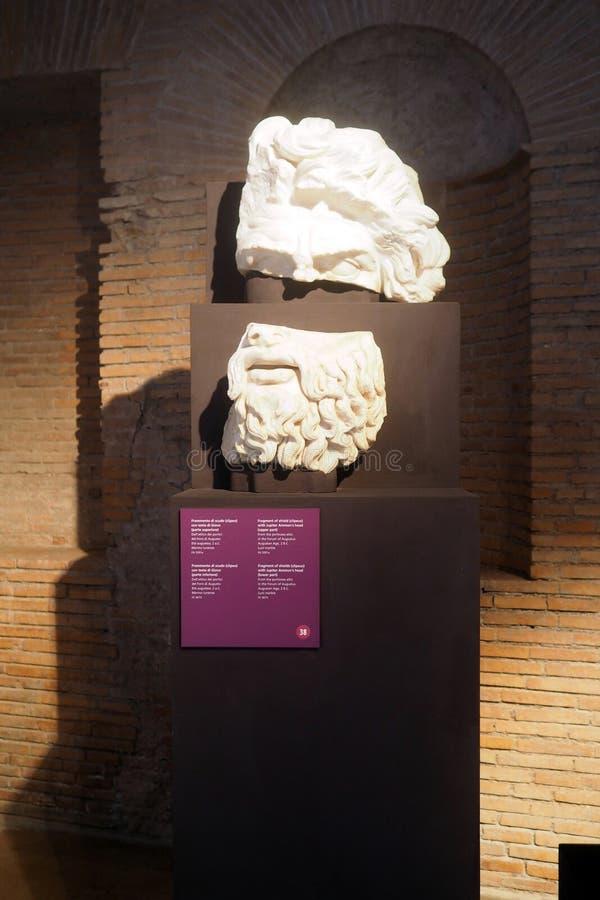 Музей имперских форумов в Риме, Италии стоковые изображения rf