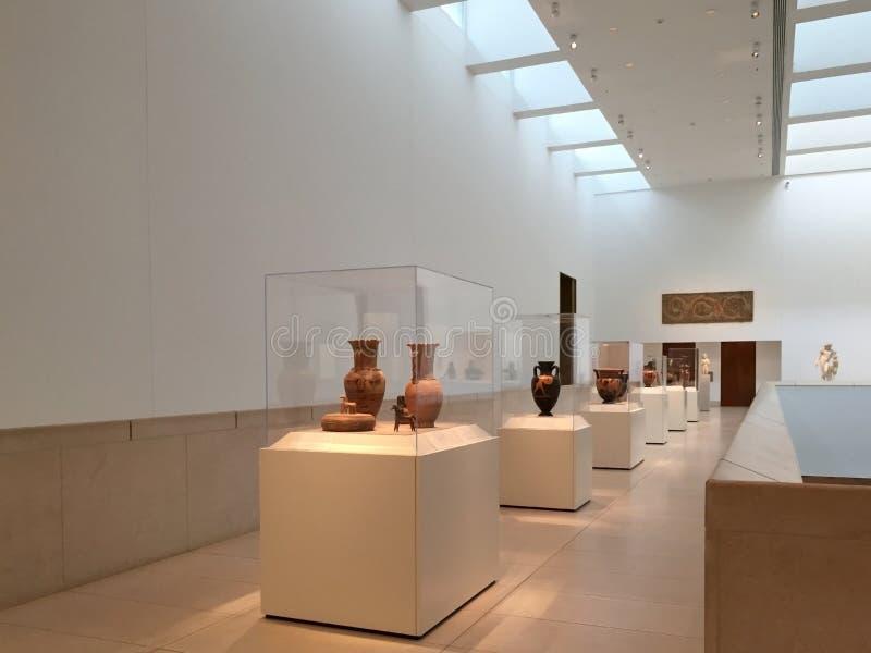 Музей интерьера Хьюстона изящных искусств стоковые изображения