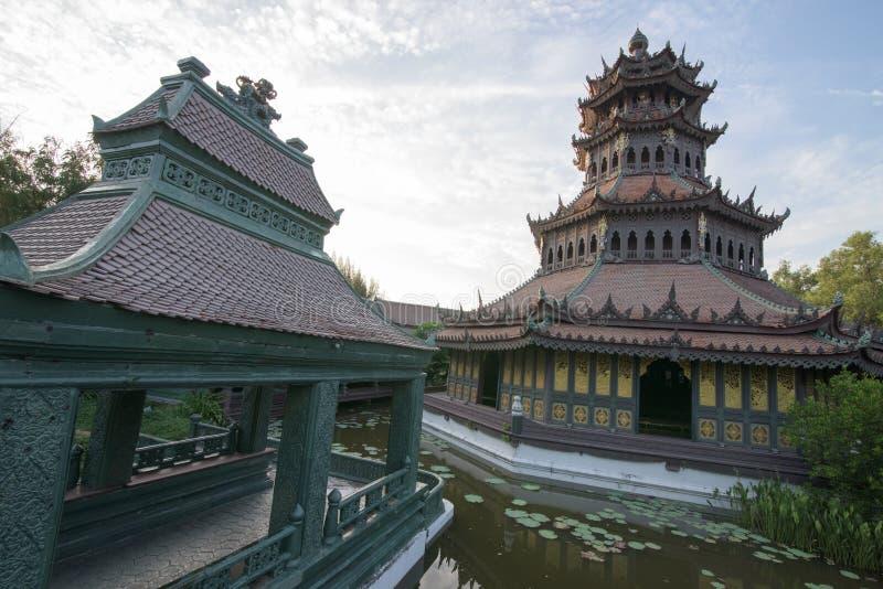 Музей истории в Таиланде стоковое изображение