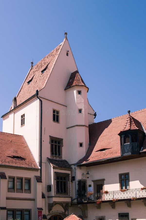 Музей истории, Sibiu Румыния стоковое фото rf