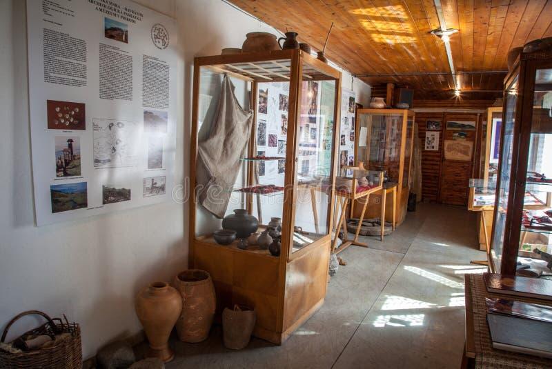 Музей кельтской культуры на Havranok, Словакии стоковые фотографии rf