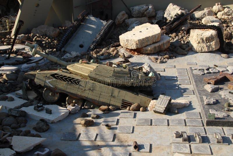 Музей Ливан войны Mlita стоковое фото