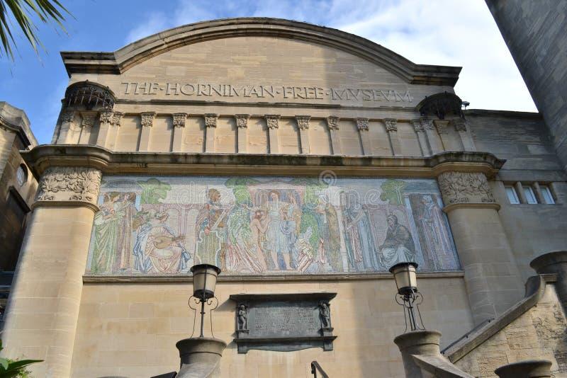 Музей Лондон Horniman стоковые фотографии rf