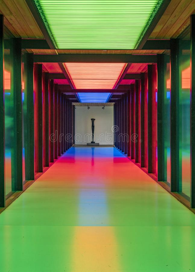 Музей Луизианы современного искусства Дании стоковые изображения rf