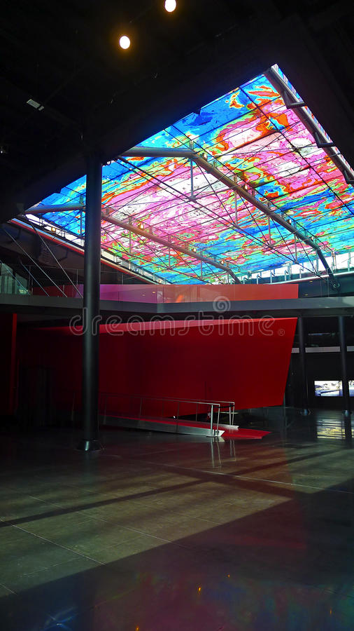 Музей МАКРОСА в Риме, Италии стоковое фото rf