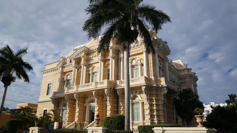 Музей Мериды антропологии стоковое фото
