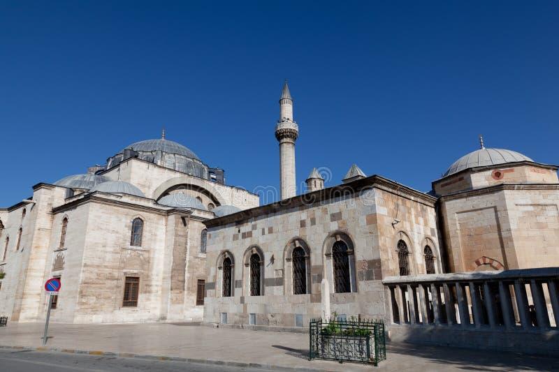 музей мечети mevlana стоковая фотография