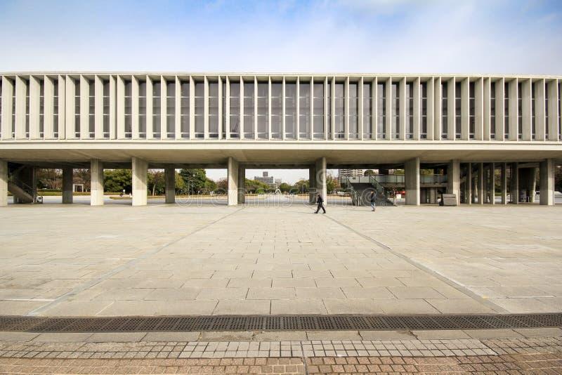 Музей мира мемориальный в Хиросиме, Японии стоковое фото rf