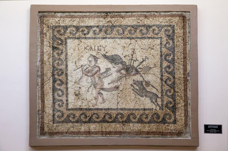 Музей мозаики Антакьи, Hatay, Турция стоковая фотография rf