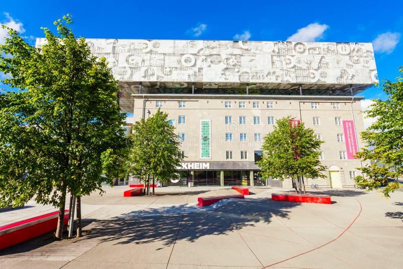 Музей музыки Rockheim, Тронхейм стоковое фото rf