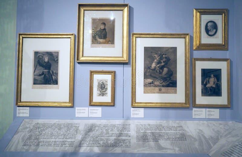 Музей Наполеона в Риме, Италия стоковое фото rf
