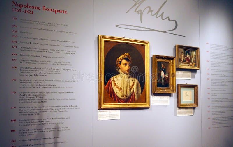 Музей Наполеона в Риме, Италия стоковые изображения rf