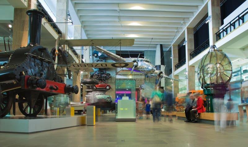 Музей науки, Лондон, Великобритания стоковые изображения rf