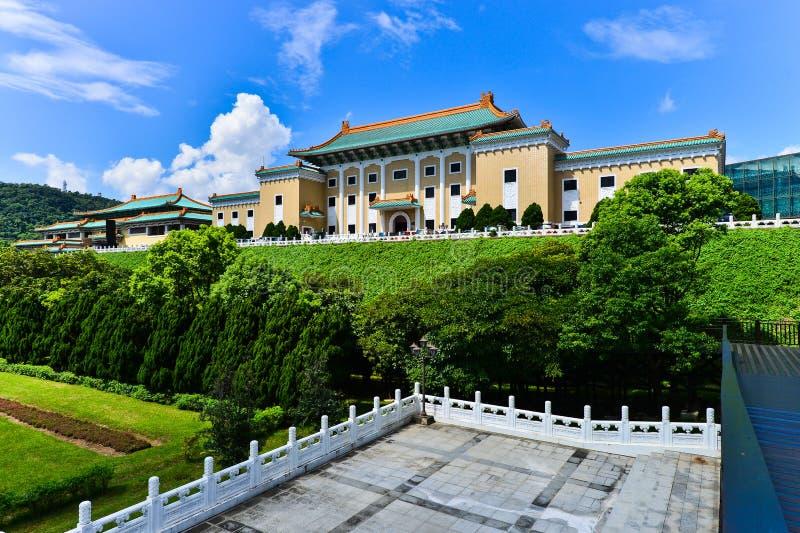 Музей национального дворца в Тайбэе, Тайване стоковое изображение