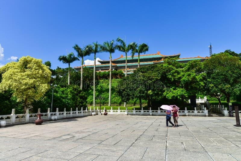 Музей национального дворца в Тайбэе, Тайване стоковые фотографии rf
