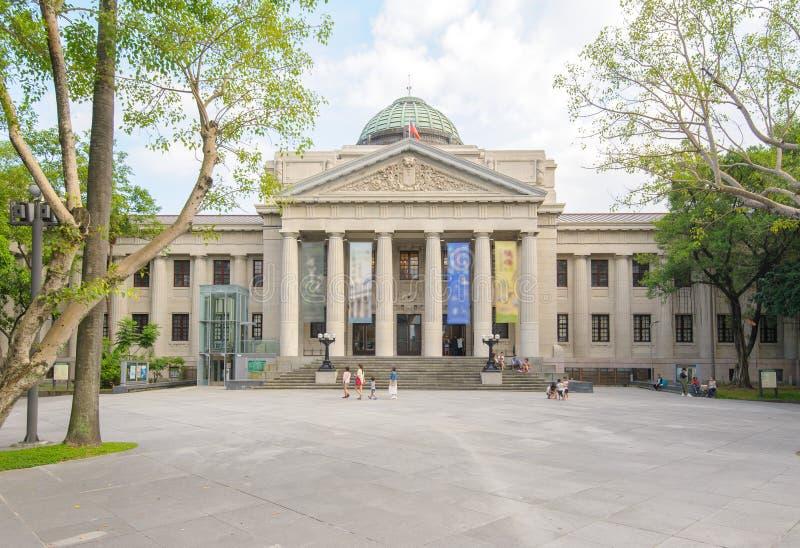 Музей национального Тайваня в Тайбэе стоковое фото