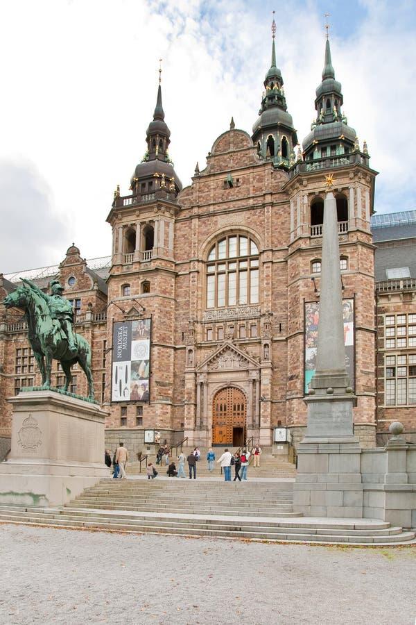 музей нордический stockholm Швеция стоковое фото rf