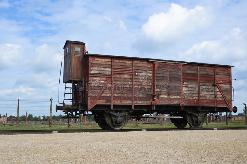 Музей Освенцима Birkenau стоковые фото
