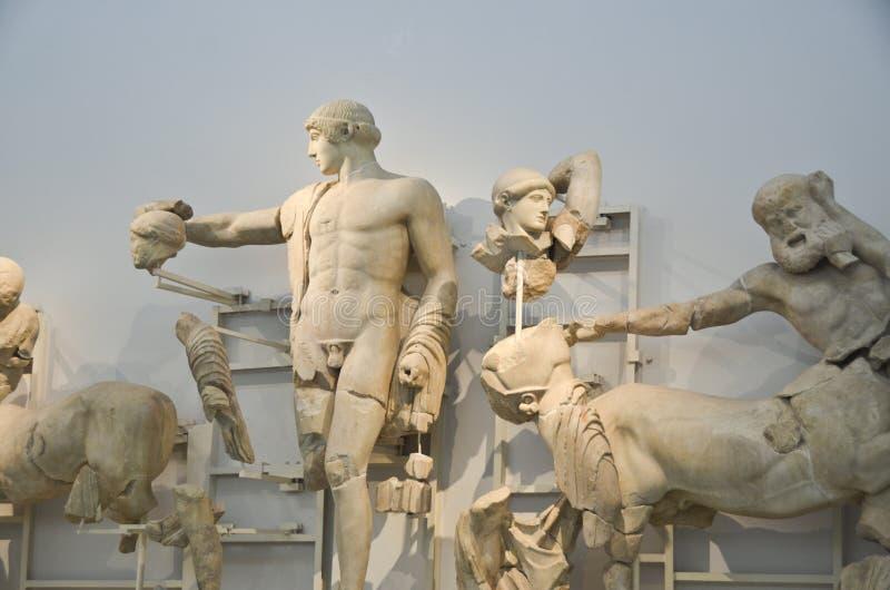 Музей Олимпии стоковое изображение