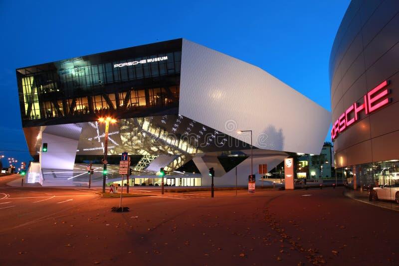 Музей Порше стоковые фотографии rf