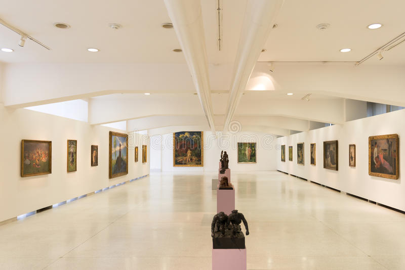 Музей Праги стоковые изображения rf