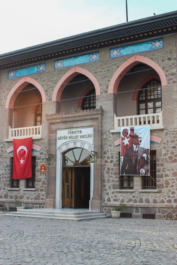 Музей республики Турции стоковая фотография rf