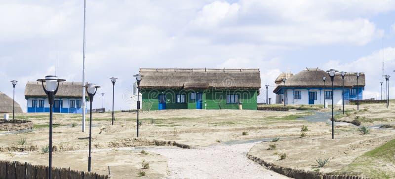 Музей рыбацкого поселка стоковые изображения rf