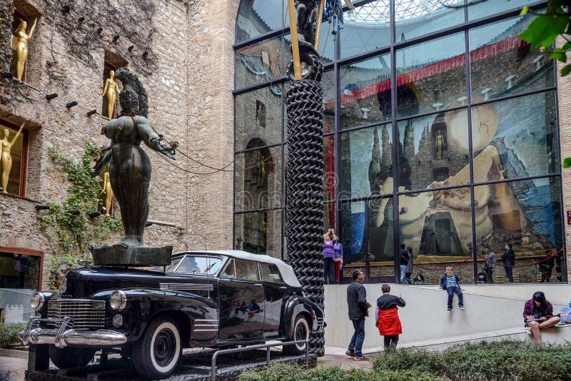 Музей Сальвадора Dali в Фигерасе; Испания стоковое изображение rf