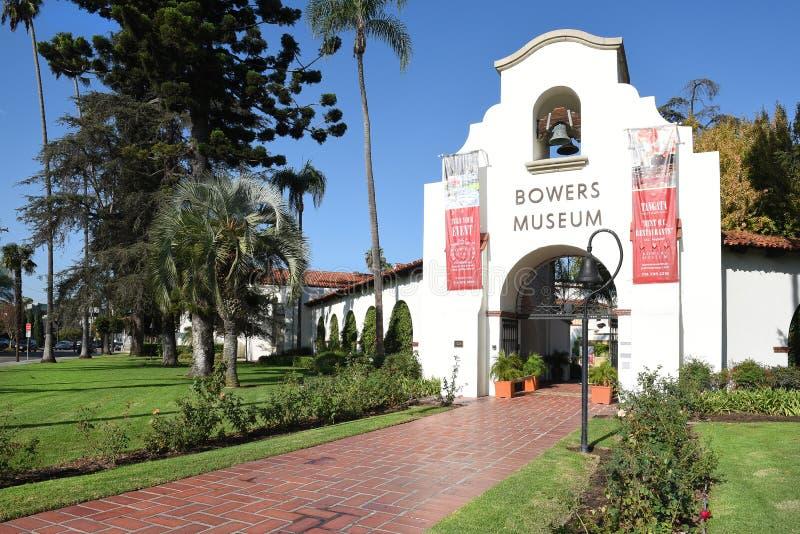 Музей Санта-Ана Bowers стоковое изображение