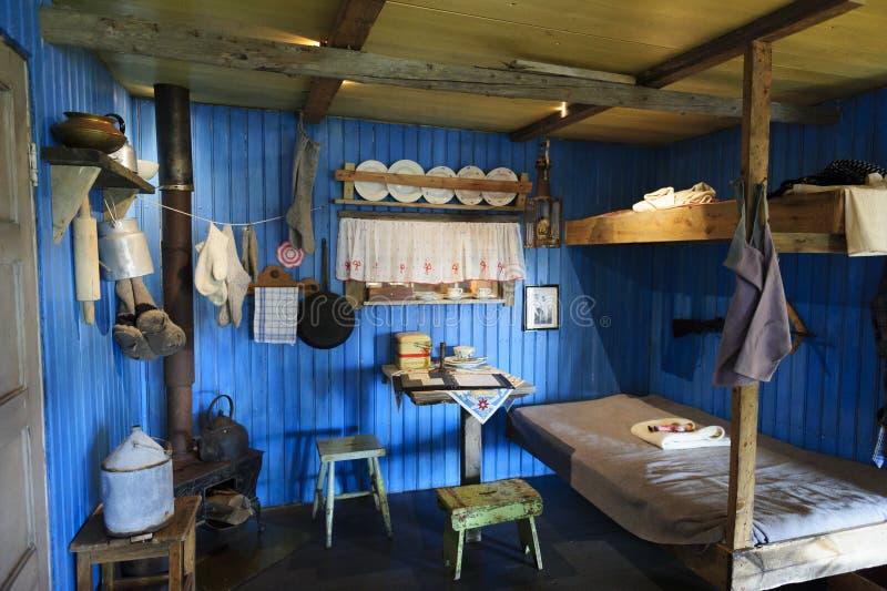 Музей Свальбарда, Longyearbyena, Свальбард, Норвегия стоковое фото