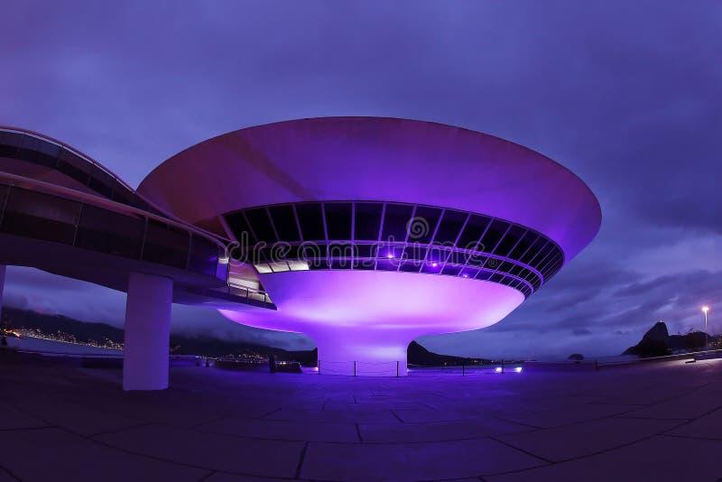 Музей современного искусства - MAC стоковые изображения rf