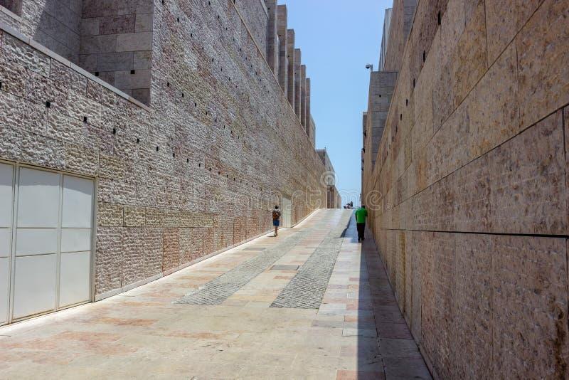 Музей современного и современного искусства Museu Berardo в Лиссабоне стоковое фото